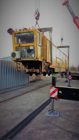 Arrivée de notre nouvelle machine B40 UE